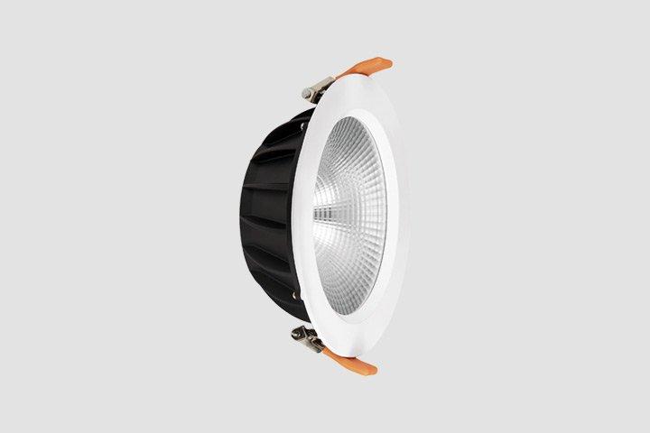 Faretto da incasso rotondo COB LED 24W
