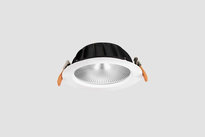 Faretto da incasso rotondo COB LED 7W