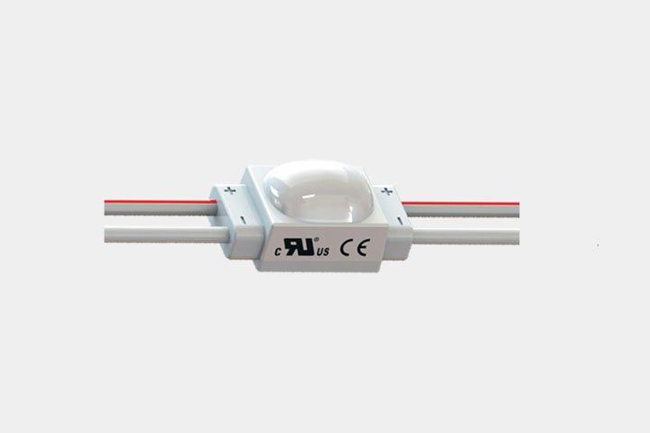 Modulo 1 LED 2835 con lente asimmetrica