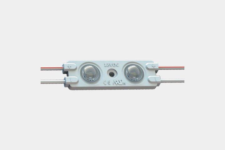 Modulo 2 LED 2835 con lente 160