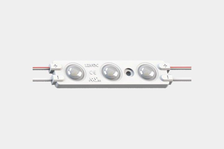 Modulo 3 LED 2835 con lente 160