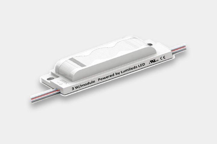 Modulo 3 LED 3W per light box