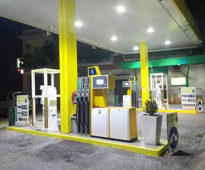 Proiettore a LED per distributori carburante 60W
