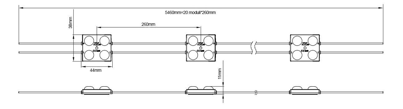 Moduli LED per insegne